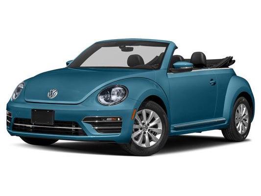 Vw Beetle Convertible >> 2019 Volkswagen Beetle Convertible 2 0t Se